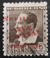 Timbre Local Patriotique De Seville N° 20 - Nationalistische Ausgaben