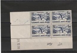 France Coin Daté Du Poste N° 334 Sans Charniére ** 29 12  1936 - Coins Datés