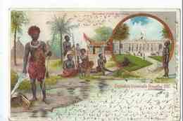 Exposition Universelle BRUXELLES 1897 : Tervueren Palais Des Colonies - Carte Précurseur Voyagée En Avril 1899 - Universal Exhibitions