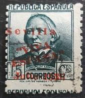 Timbre Local Patriotique De Seville N° 22 - Nationalistische Uitgaves
