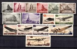 Russie YT N° 596/603 Et Poste Aérienne N° 60/66 Neufs *. B/TB. A Saisir! - Neufs