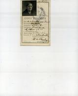 Carte D'Identité - Le Chartier Mathilde - 2 Rue Lebouteiller Rennes - Ille Et Vilaine - Mappe