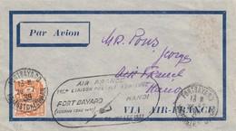 LETTRE. KOUANG-TCHEOU CHINE. 26 7 39. AIR F RANCE 1° LIAISON POSTALE AERIENNE FORT-BAYARD/HANOI - Kouang-Tcheou (1906-1945)