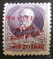 Timbre Local Patriotique De Seville N° 23 Neuf - Nationalistische Ausgaben