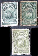 1920-7 Bolivia 8v. - Bolivie