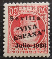 Timbre Local Patriotique De Seville N° 25i Neuf - Nationalistische Ausgaben