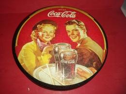 ANCIENNE BOITE MÉTALLIQUE COCA-COLA DRINK 1989 COMME NEUVE ! Voir Photos - Boîtes/Coffrets