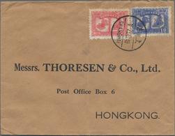 China - Volksrepublik - Provinzen: 1949, Cover Addressed To Hong Kong, Bearing Liberation Of Nanking - 1949 - ... République Populaire
