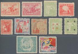 China - Volksrepublik - Provinzen: China, Northeast Region, Luda People's Posts, 1949, Small Selecti - 1949 - ... République Populaire
