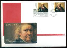 Nederland 1999 Telebrief Rembrandt - Briefe U. Dokumente