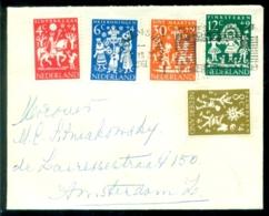 Nederland 1961 Brief Met Complete Serie Kinderzegels NVPH 759-763 - Period 1949-1980 (Juliana)