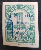 Timbre Local Patriotique De Seville N° 80 Neuf Charnière - Nationalistische Ausgaben