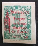 Timbre Local Patriotique De Seville N° 81 Neuf Charnière - Nationalistische Uitgaves