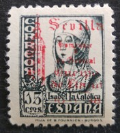 Timbre Local Patriotique De Seville N° 83 Neuf Charnière - Nationalist Issues
