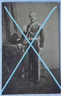 Photo ABL Officier Armée Belge Circa 1875 Belgische Leger Photographe J DUPONT Antwerpen Sabre Sword - Fotos