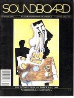 Revue Guitare Soundboard Guitar Fondation Of America N° 1 - 1995 - Gfa Convention Northridge - Art