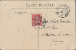 China - Fremde Postanstalten / Foreign Offices: France, South China, Mongtze/Mongtseu, Two Ppc Used - China