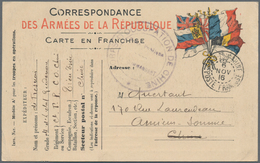 China - Fremde Postanstalten / Foreign Offices: France, Military Mail, 1916, Generic Military Mail C - China