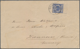 China - Fremde Postanstalten / Foreign Offices: Germany, 1892/98, Eagle Type 20 Pf. Blue Single Fran - China