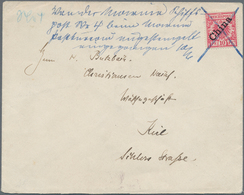 China - Fremde Postanstalten / Foreign Offices: German Offices, 1900, Crown And Eagle 10 Pf. Posted - China