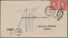 China - Fremde Postanstalten / Foreign Offices: USA, 1919, Cover To Mannheim/Germany W. USA Unovpt. - China