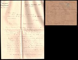 GERMAN COL-MARSHALL ISLANDS. 1898 (31 July).  MARSHALL ISLANDS - SPANISH CAROLINES - AUSTRALIA - GREAT BRITAIN - GERMANY - Deutschland