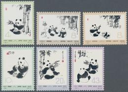 China - Volksrepublik: 1972/1973, Five Sets MNH: Channel (N49-N52), Panda (N57-N62), Women's Day (N6 - 1949 - ... République Populaire