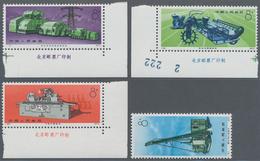 China - Volksrepublik: 1974, Industrial Production (N78/N81), Complete Set Of 4, MNH, Mostly With Im - 1949 - ... République Populaire