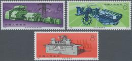 China - Volksrepublik: 1974, Machines (N78-N81), Complete Set Of 4, MNH (Michel €700). - 1949 - ... République Populaire