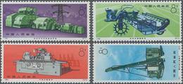 China - Volksrepublik: 1974, Industrial Production (N78-N81), Complete Set Of 4, MNH (Michel €600). - 1949 - ... République Populaire