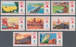 China - Volksrepublik: 1976, Completion Of The 4th Five Year Plan (J8), 2 Complete Sets Of 16, MNH A - 1949 - ... République Populaire