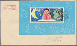 China - Volksrepublik: 1979, Study Of Science From Childhood S/s (T41M), On FDC Addressed To Neuwied - 1949 - ... République Populaire
