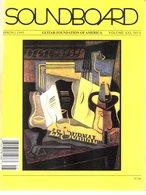 Revue Guitare Soundboard Guitar Fondation Of America N° 4 - 1995 - - Art