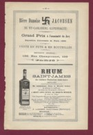 160120A - PUBLICITE XIXème - Bière Danoise JACOBSEN NY CARLSBERG COPENHAGUE - RHUM SAINT JAMES Saint Pierre Antilles - Publicidad