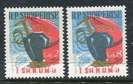 ALBANIA 1963 Party Congress MNH / **  Michel 788-89 - Albania