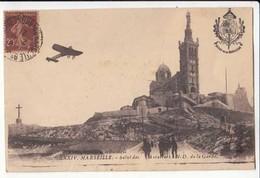 CPA France 13 - Marseille -   Salut Des Aviateurs à N. D. De La Garde -  Achat Immédiat - (cd021 ) - Flugwesen