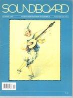 Revue Guitare Soundboard Guitar Fondation Of America N° 1 - 1994 - Art