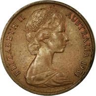 Monnaie, Australie, Elizabeth II, Cent, 1981, Melbourne, TTB, Bronze, KM:62 - Victoria