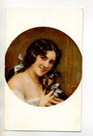 CHIENS 327 Jeune Femme Et Son Petit Chien Illustrateur L Commere  1910 - Chiens