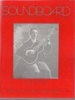 Revue Guitare Soundboard Guitar Fondation Of America N° 4 - 1989 - Elzear Fiset - Art
