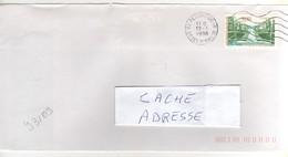 """Timbre , Stamp Yvert N° 3109 """" Domaine De Sceaux , Hauts De Seine """" Sur Lettre , Cover , Mail Du 12/03/1998 - France"""