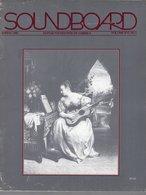 Revue Guitare Soundboard Guitar Fondation Of America N° 1 - 1989 - - Art
