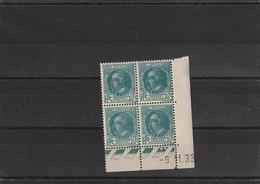 France Coin Daté Du Poste N°291  Sans Charniére ** Du 9 1 1933 - 1930-1939