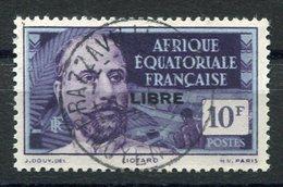 RC 15296 AFRIQUE EQUATORIALE AEF N° 126 SURCHARGE LIBRE COTE 85€ OBLITÉRÉ TB - Gebraucht