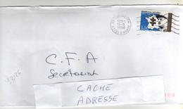 """Timbre , Stamp Yvert N° 3126 """" Maréchal Leclerc """" Sur Lettre , Cover , Mail Du 14/09/1998 - France"""
