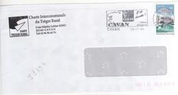 """Timbre , Stamp Yvert N° 3194 """" Saint Dié Vosges """" Sur Lettre , Cover , Mail Du 20/11/1998 - France"""