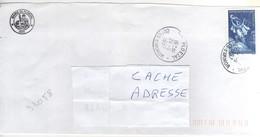 """Timbre , Stamp Yvert N° 3058 """" Perrault , Le Chat Botté """" Sur Lettre , Cover , Mail Du 24/11/1997 - France"""