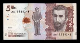 Colombia 5000 Pesos 2015 Pick 459a SC UNC - Kolumbien