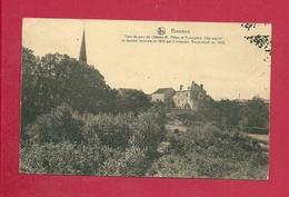 C.P. Biesme  = Coin Du Parc Du Château M. PETEN Et PRESBYTERE 16 è S.Incendié Par Les Allemands 1914 Et Reconstruit 1923 - Mettet