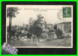 Montfaucon Du Velay Aspect  Sud Est,vue Prise Du Mazard (recto Verso) - Montfaucon En Velay